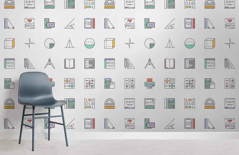 maths-pattern-childrens-room-wall-murals
