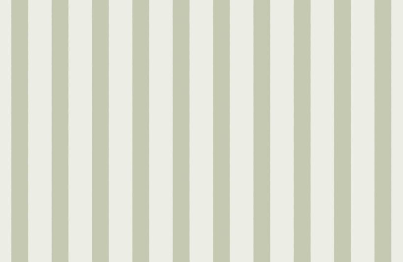 mint green and cream striped wallpaper mural