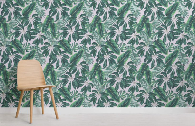 mixed-tropical-leaves-room-wall-murals