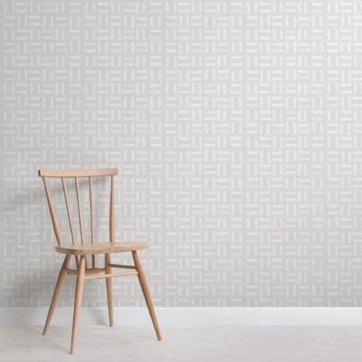 modern printed lines repeat pattern wallpaper