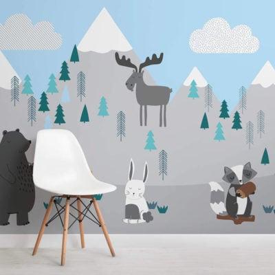 kids-mountain-scene-square-wall-mural