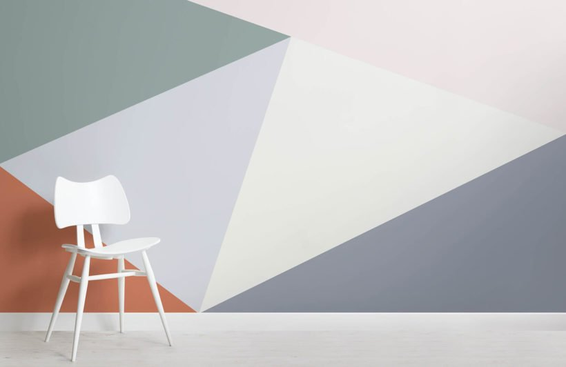 multicoloured-oversized-geometric-wall-mural-room