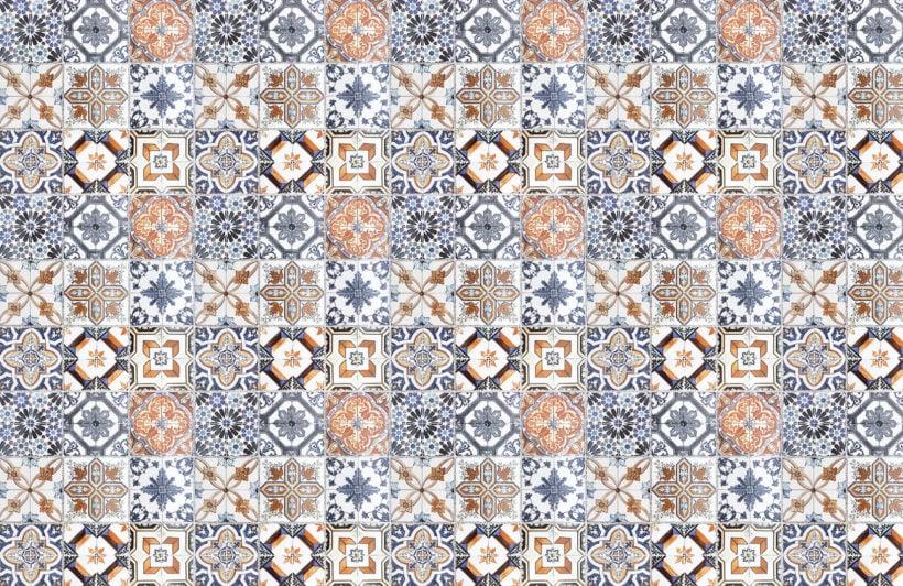 multicoloured-portuguese-tile-plain-wall-murals