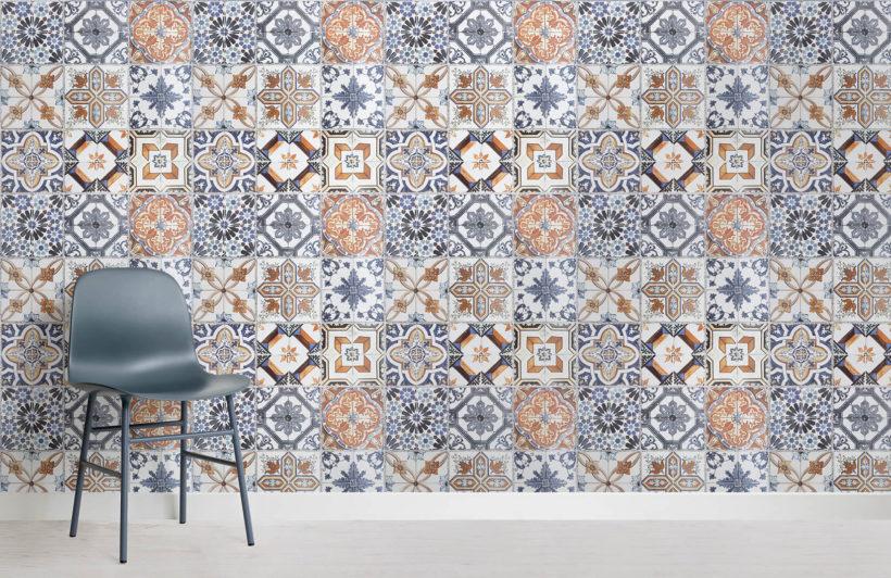 multicoloured-portuguese-tile-room-wall-murals