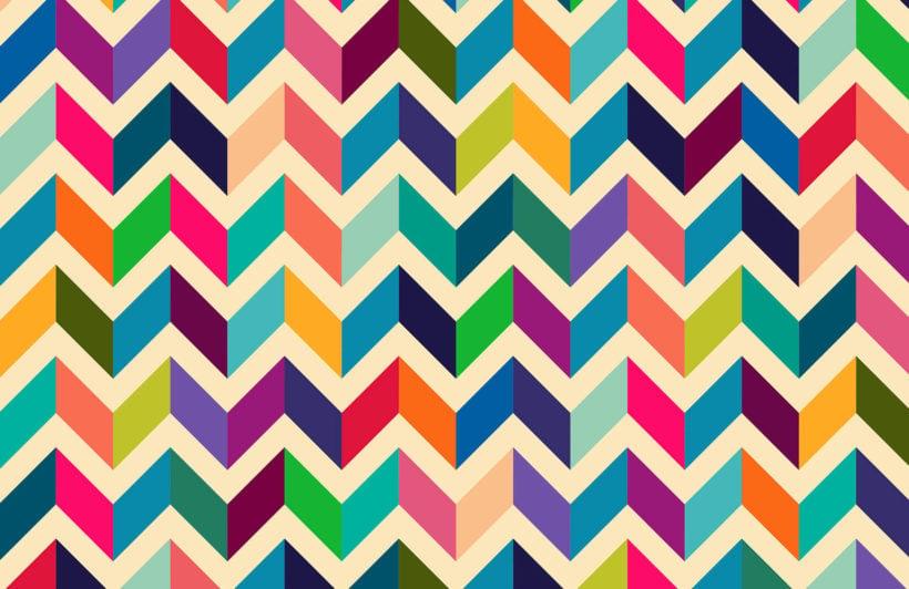 multicoloured-zig-zag-plain-wall-murals