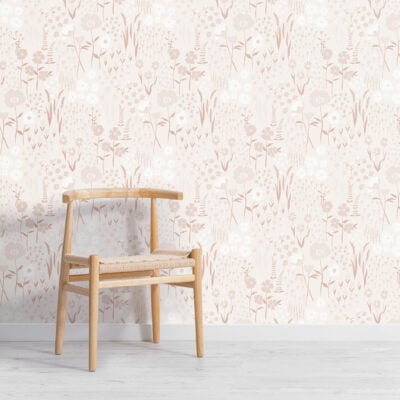 natural-pink-botanical-flowers-repeat-pattern-wallpaper