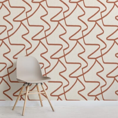 neutral-teracotta-abstract-lines-repeat-pattern-wallpaper