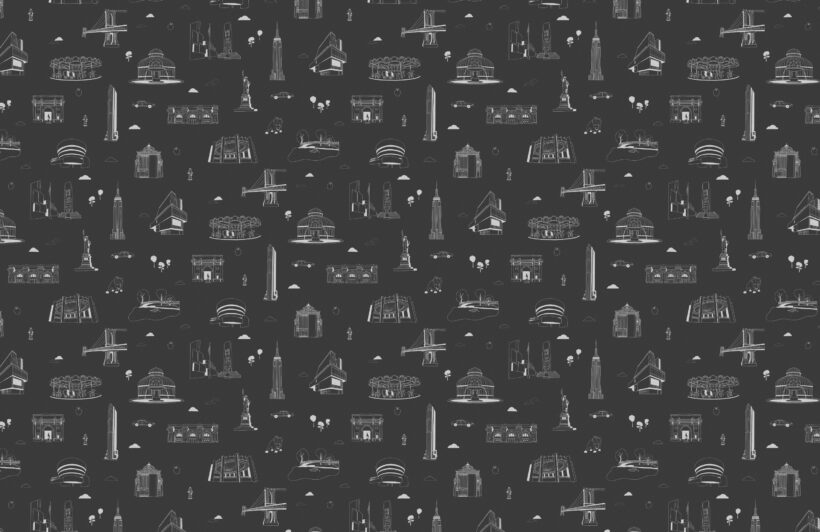 new-york-city-landmarks-black-and-white-repeat-pattern-wallpaper