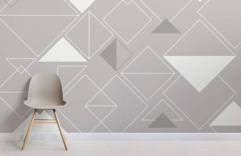 nonagon-classic-grey-triangles-room-wall-murl