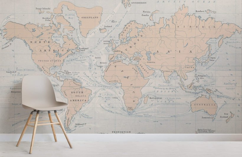 ocean-currents-vintage-map-room-wall-murals