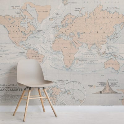 ocean-currents-vintage-map-square-1-wall-murals
