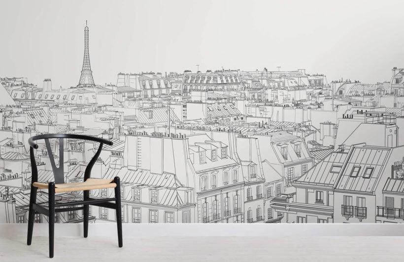 paris-rooftop-illustration-room-wall-murals