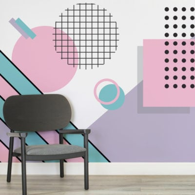 pastel-modern-shapes-memphis-square-wall-mural