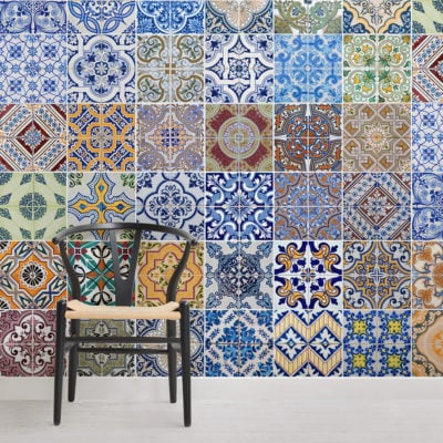 patterned-tile-square-wall-murals