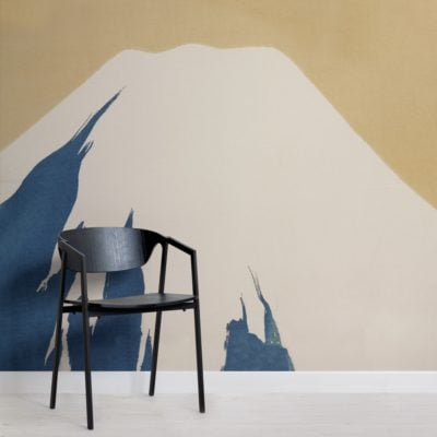 peak of mount fuji by kamisaka sekka japan wallpaper mural