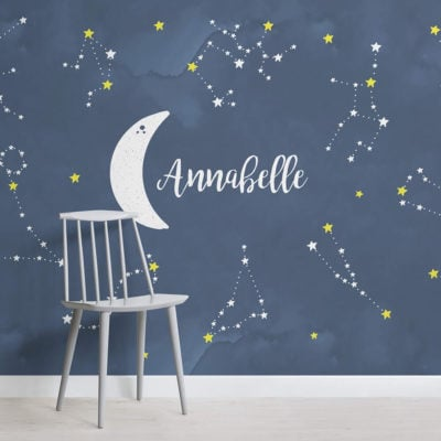 personalised-constellations-nursery-square-wall-mural