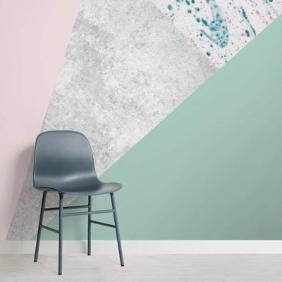 pink-and-green-geometric-collection-square-wall-mural