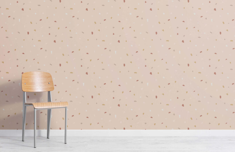pink-and-neutral-minimal-terrazzo-repeat-pattern-wallpaper