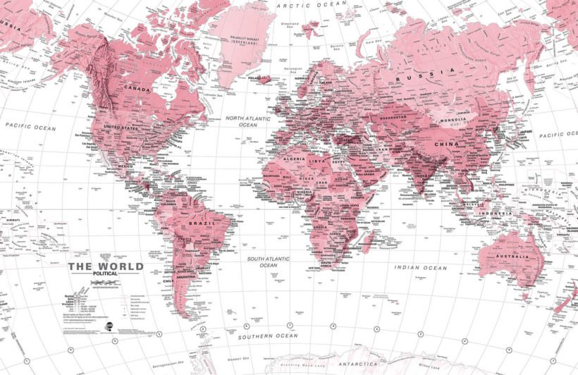 pink-and-white-world-map-maps-plain-wall-murals