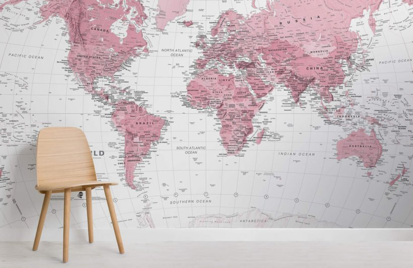 pink-and-white-world-map-maps-room-wall-murals
