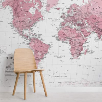 pink-and-white-world-map-maps-square-1-wall-murals