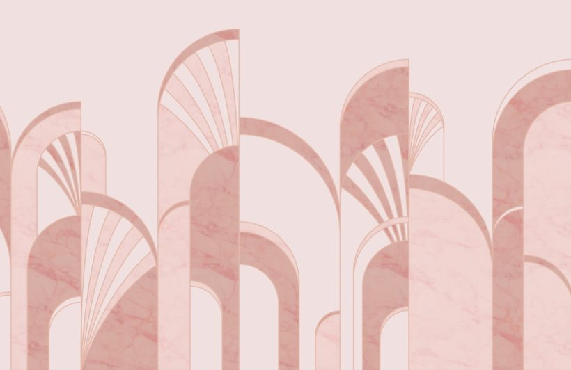 pink-art-deco-print-arches-wallpaper-mural
