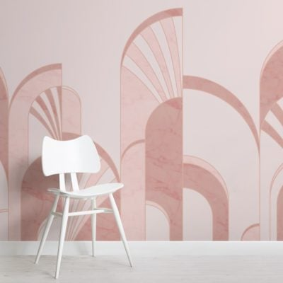 pink-art-deco-print-arches-wallpaper-mural