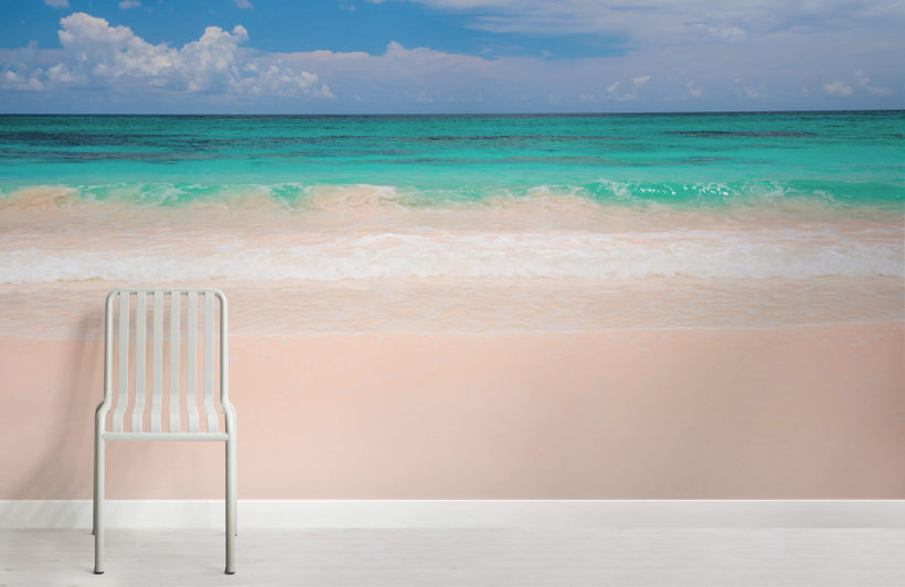pink-beach-beach-room-wall-murals