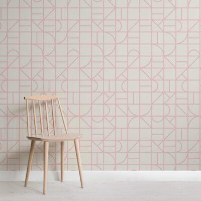 pink-modern-geometric-grid-repeat-pattern-wallpaper