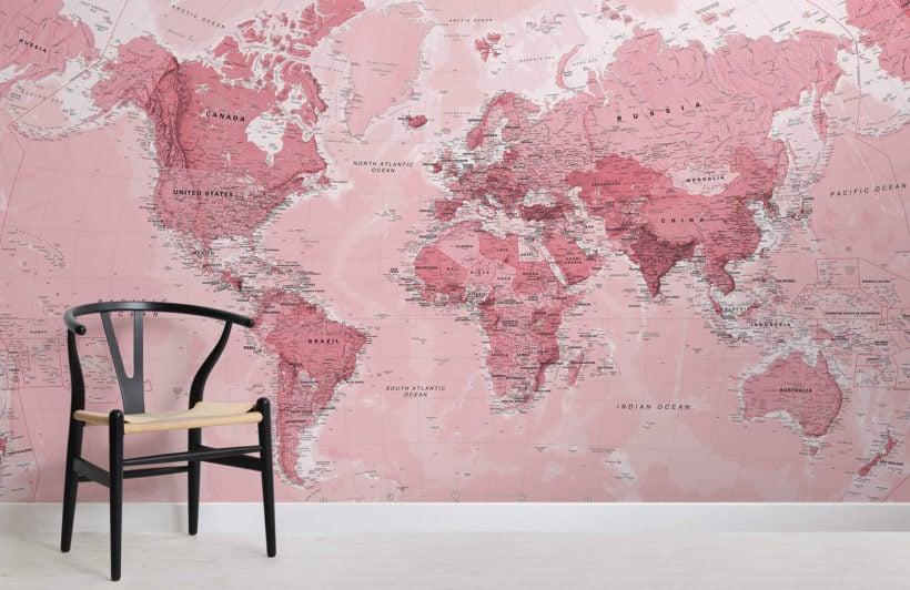 pink-world-map-maps-room-wall-murals