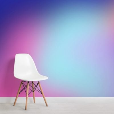 purple bright gradient wallpaper mural