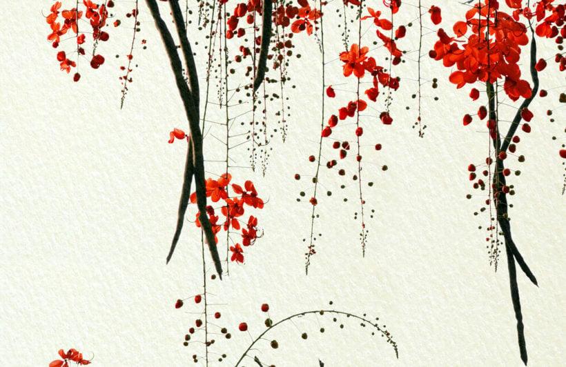red-blossom-flower-plain-wall-murals