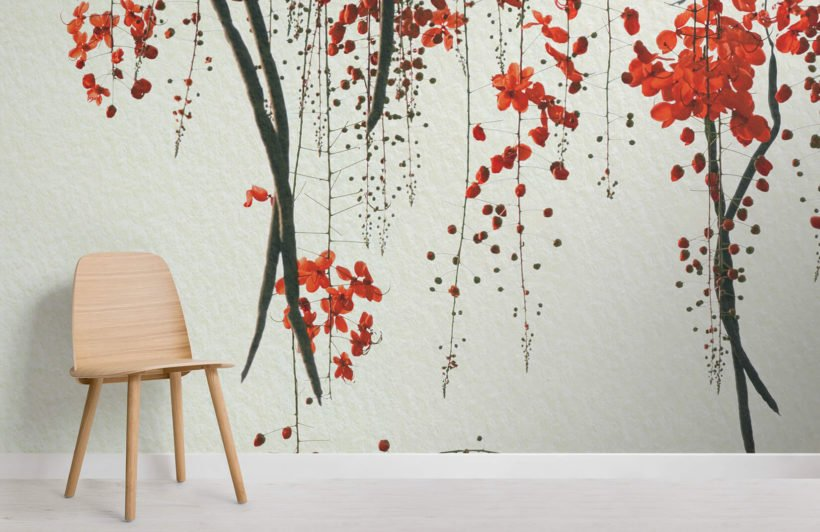 red-blossom-flower-room-wall-murals