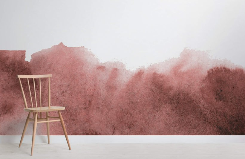 red-grunge-fading-paint-design-room-wall-murals