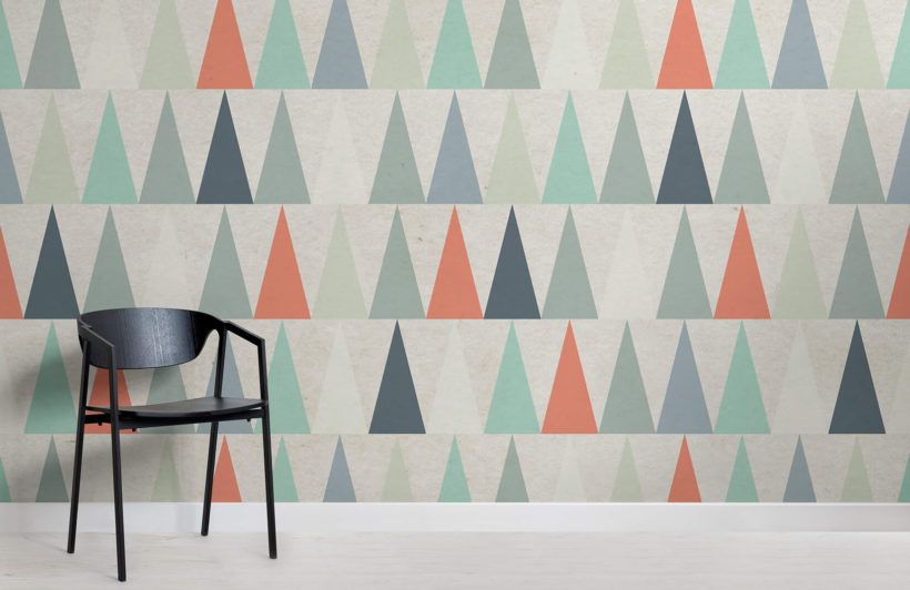 red-triangles-design-room-wall-murals