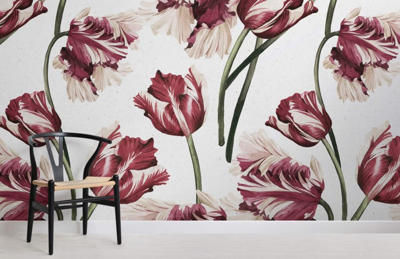 red-tulip-flowers-room-wall-murals