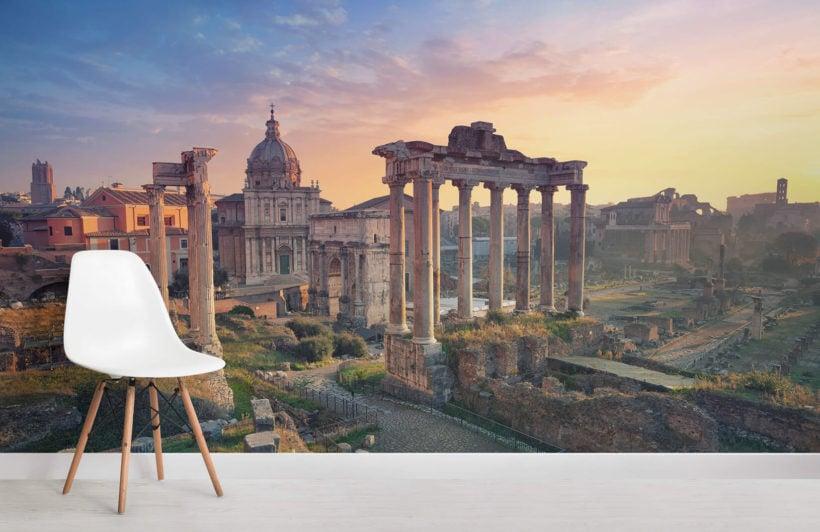 rome-forum-city-room-wall-murals