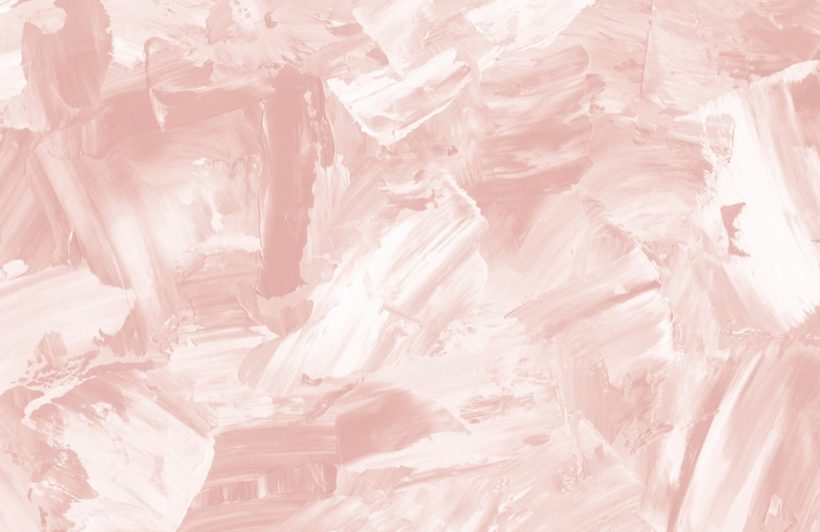 rose beige abstract paint strokes wallpaper mural