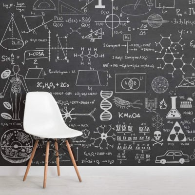 scientific-chalkboard-childrens-square-1-wall-murals