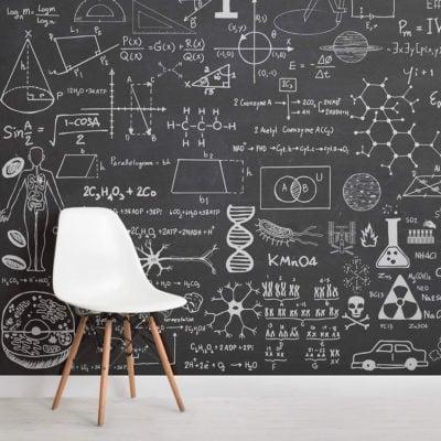 scientific-chalkboard-childrens-square-1-wall-murals
