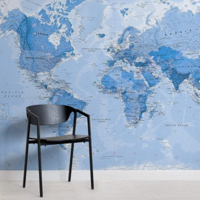shaded-blue-political-map-maps-square-wall-murals
