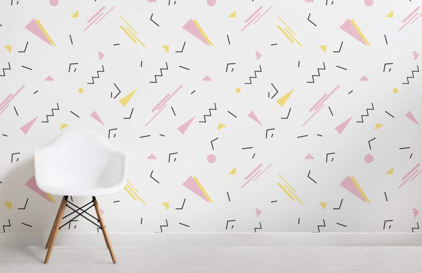 simplistic-geo-90s-room-wall-mural