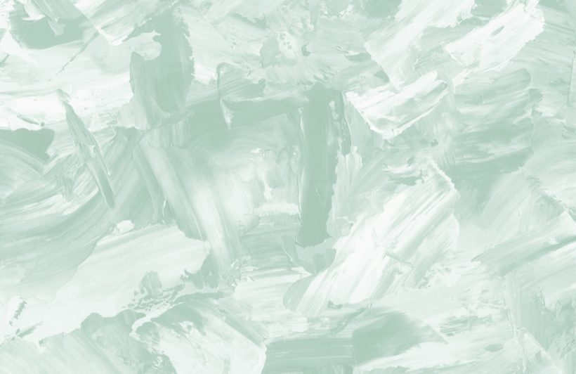 soft sage abstract paint strokes wallpaper mural