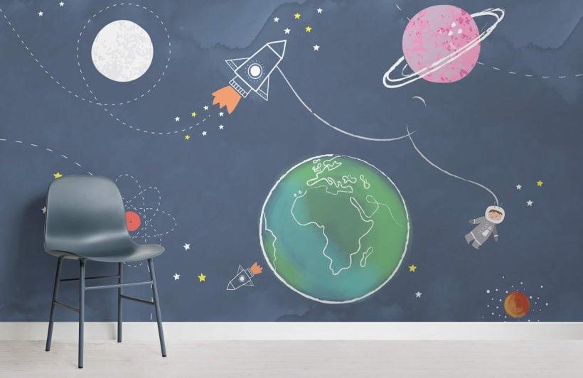 space-scene-nursery-room-wall-mural
