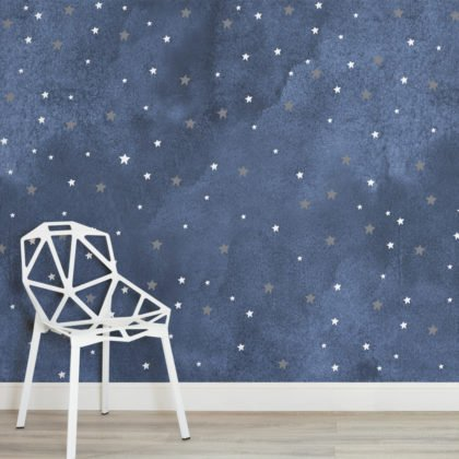 Starry Night Wallpaper Mural Image