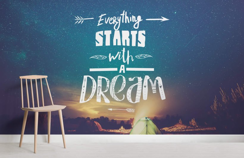 starts-with-a-dream-wall-mural-room
