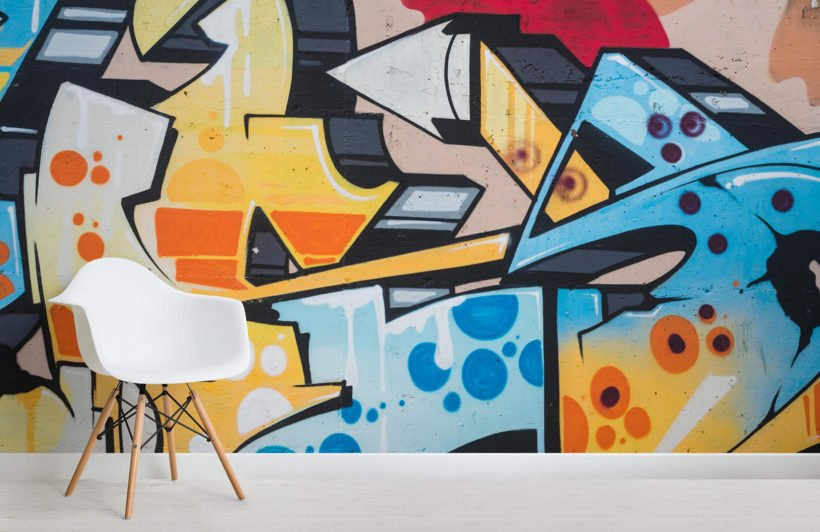 summer-graffiti-room-wall-murals
