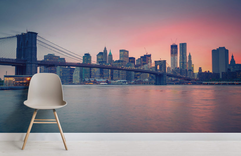 sunset-over-nyc-city-room-wall-murals