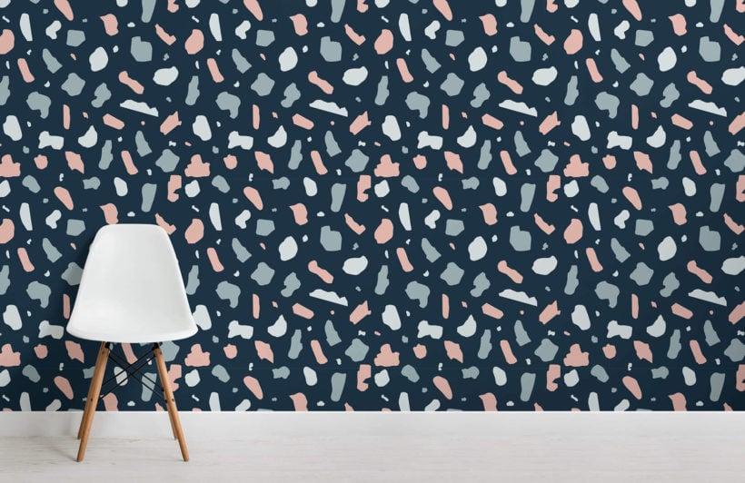 terrazzo-dark-small-room-wall-mural