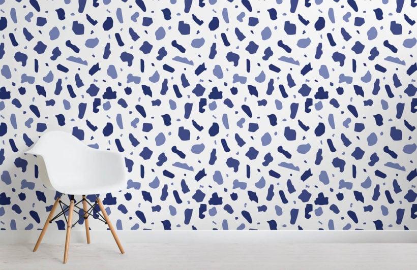 terrazzo-indigo-room-wall-mural